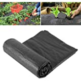 2m x 5m Wide Weed Barrier Control Fabric Ground Cover Membrane Garden Landscape Driveway Weed Block Non Woven Heavy Duty…