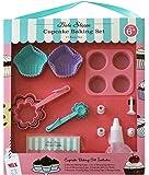 Handstand Kitchen Bake Shoppe 17-piece Real Cupcake Baking Set for Kids