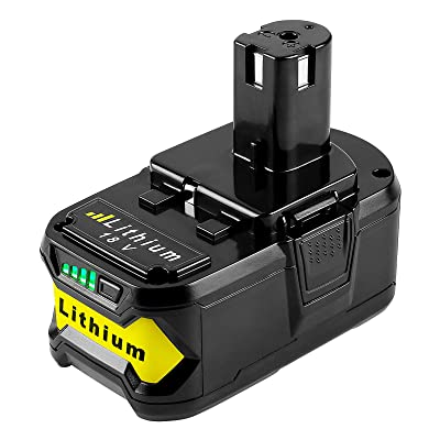 Plus P104 P102 /& P117 Charger 18V 5.0Ah Lithium Ion Battery For Ryobi P108 ONE