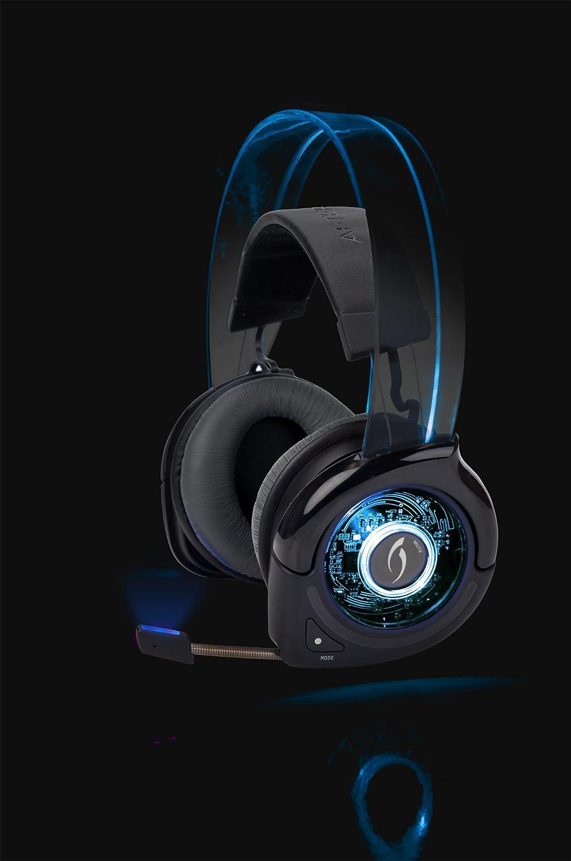 Amazon.com: Afterglow Universal Wireless Headset - Blue: Xbox 360 ...