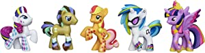 My Little Pony, Rainbow Pony Favorite Set [Dr. Hooves, DJ PON-3, Rarity, Applejack and Princess Twilight Sparkle]