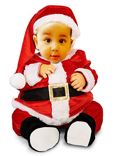 73be09cec367 Buy Fancy Steps New Born Infant Baby / Toddler Little Boys Xmas Chistmas  Santa Costumes Dress (6 to 12 Months, ) Online at Low Prices in India -  Amazon.in