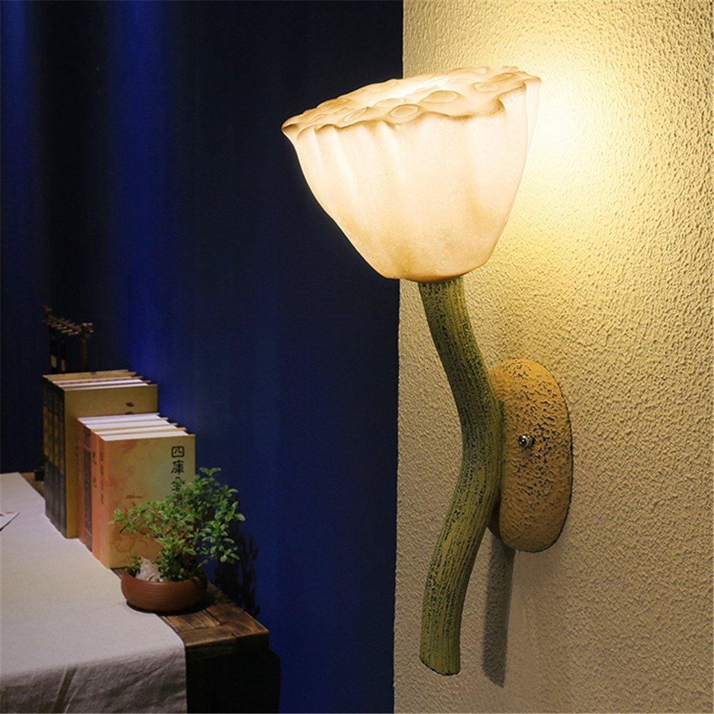 MMYNL Moderne E27 Antik Wandlampe Vintage Wandlampen Wandleuchten für Schlafzimmer Wohnzimmer Bar Flur Bad Küche Balkon Decorative PorcHöheight 45CM Wandleuchte