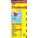 Thailand Travel Map Seventh Edition (Periplus Travel Maps)