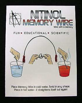 Nitinol Memory Wire: Amazon co uk: Toys & Games