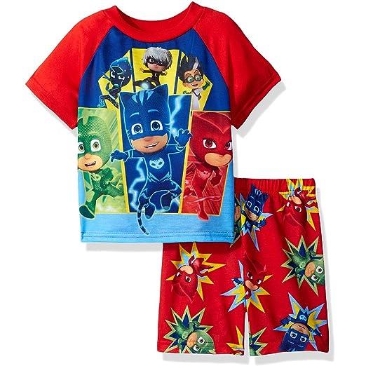 20713101 Amazon.com: PJ Masks Boys Shorts Pajamas (2T, PJ Masks Red): Clothing