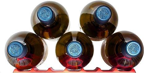 Amazon Com Fridge Monkey Bottle Stacking Mat Red Kitchen Dining