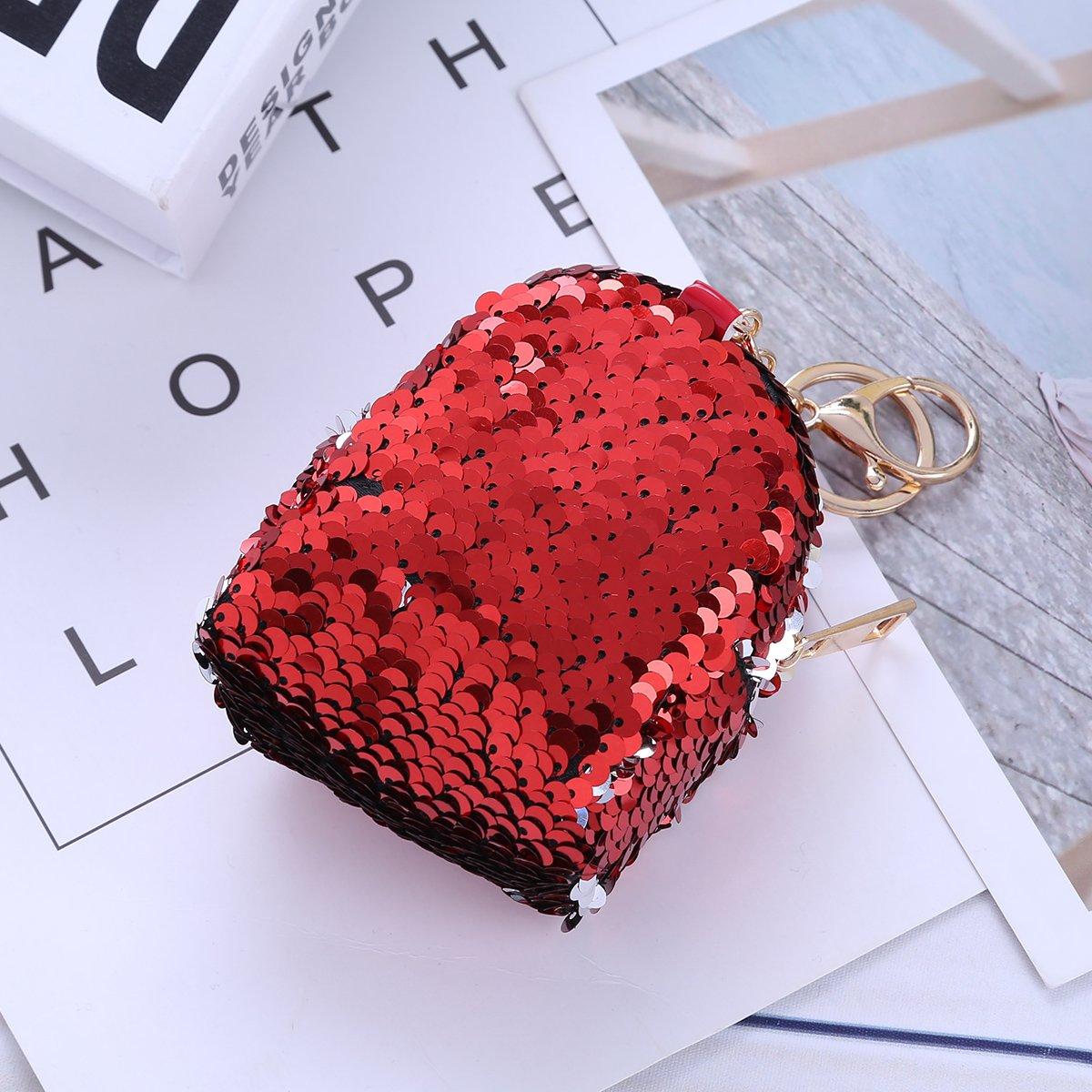 YiZYiF DIY Porte-Monnaie Pour Femmes Filles Petit Portefeuille Porte-cl/és Pour Pi/èce de Monnaie Carte Cl/és Licorne Mini Sac