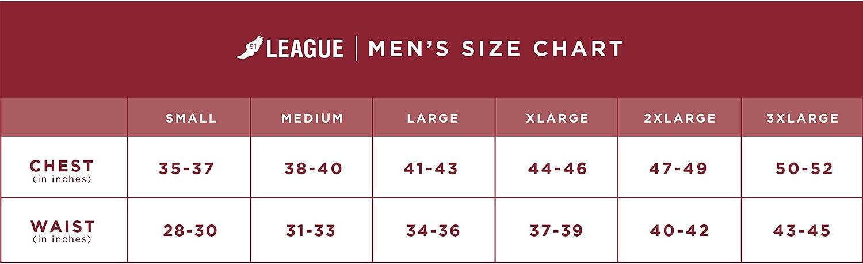 League&CO NCAA Herren Saranac 1/4 Reißverschluss, Herren, Mens Saranac 1/4 Zip Fall Navy