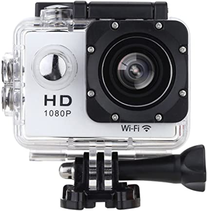 Sodao Action Camera Wifi 2 0 Inch Screen 12mp Full Hd 1080p 30 M 98 Foot Waterproof Sports Camera 170 Wide Angle With Accessories Kits For Bicycle Motorcycle Diving Swimming Etc Sport Freizeit