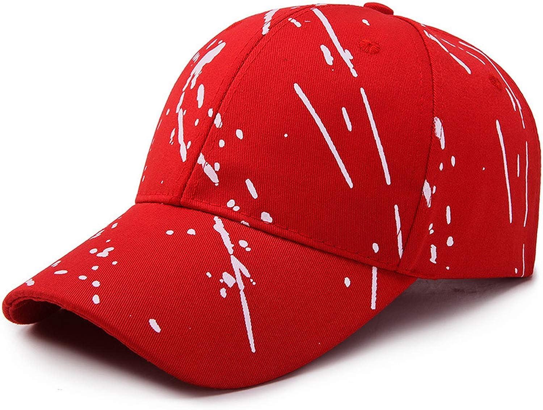 Leisure Baseball Cap Men Fashion Print Visor Women Graffiti Sun Hat Black Red White Caps Baseball Hat