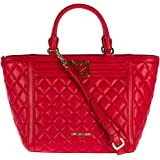 love moschino damen jc4014 henkeltasche rot red schuhe handtaschen. Black Bedroom Furniture Sets. Home Design Ideas