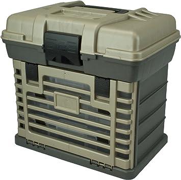 Plano Molding 1363 Stow N Go Caja de herramientas, Gris grafito y piedra arenisca: Amazon.es: Bricolaje y herramientas