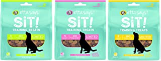 product image for ETTA SAYS! Sit Training Treats for Dogs – Pack of 3 – Made in The USA, Limited Ingredients, Low Calorie, No Gelatin, Wheat, Corn or Soy