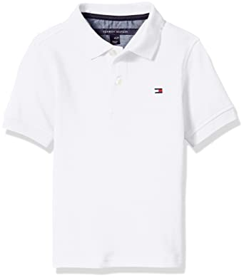 9e9862ed23b16 Image Unavailable. Image not available for. Color  Tommy Hilfiger Boys   Little Stretch Ivy Polo ...
