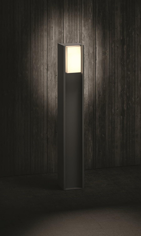 Philips Hue Turaco - Poste LED para exterior, color negro ...