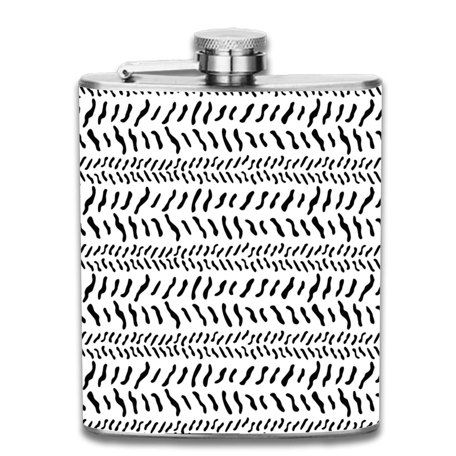 deyhfef St.Patrick's Day Outdoor Portable Stainless Steel Flagon Liquor Hip Flask Set (7oz) Unisex14