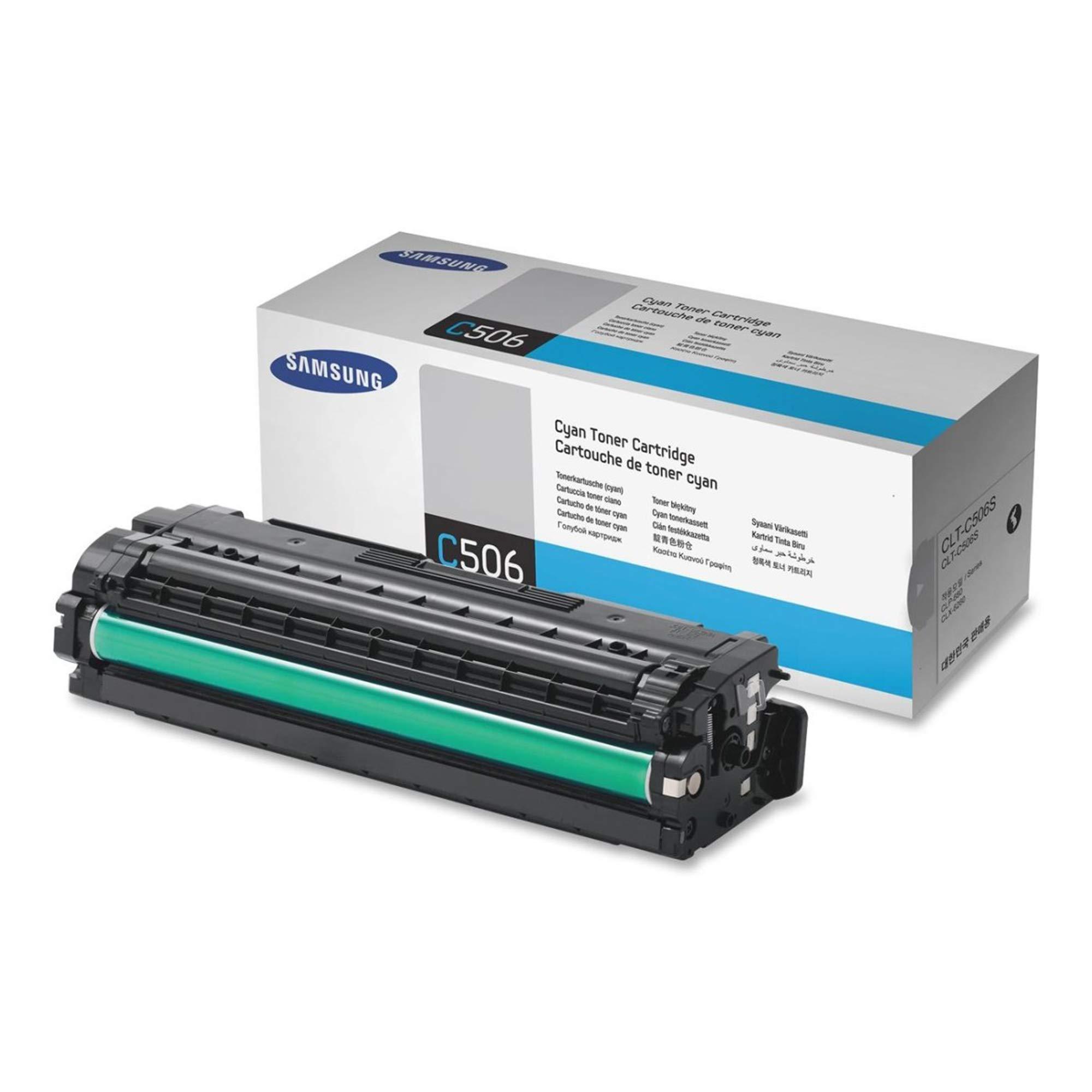Toner Original SAMSUNG CLT-C506S Cyan para CLP-680ND 6250FD 6260FR