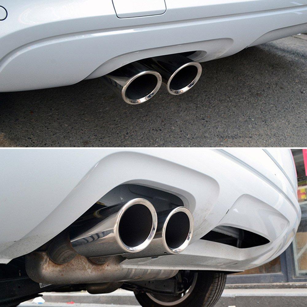 KKmoon YOK4298168123550CI - Tubo de Escape Acero Inoxidable para Silenciador: Amazon.es: Coche y moto