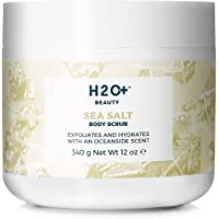 H2O+ Beauty Sea Salt Body Scrub, Exfoliates and Hydrates with an Oceanside Scent, 12 Ounce
