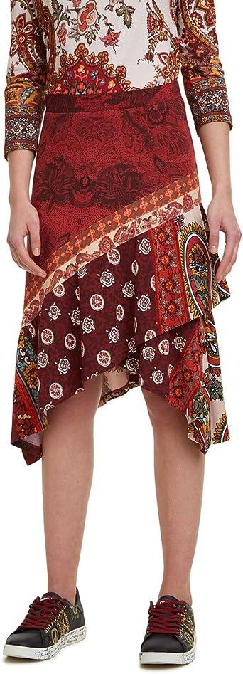 Desigual Skirt Indira Falda para Mujer: Amazon.es: Ropa y accesorios