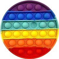 2021 Nieuwe Fidget Speelgoed Push Pop Bubble, Regenboog Stress verlichten voor ADHD Autisme Angst - Push Pop It Bubble…