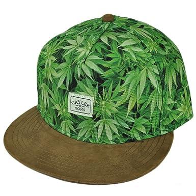 wiele modnych style mody uważaj na Cayler and Sons Green Weed Marijuana Leaf Cannabis Snapback ...