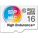 シリコンパワー 高耐久 ドライブレコーダー用 microSDHCカード 16GB Class10 MLC NANDフラッシュ採用  2年保証 SPA016GMSDIU3