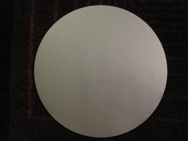 """Round .0625 5052 Aluminum Circle 1//16/"""" Aluminum Disc x 5.25/"""" Diameter"""