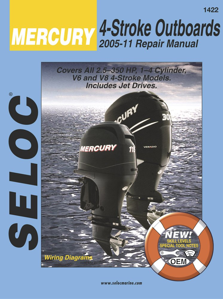 Mercury Outboards, 4 Stroke 2005-2011 (Seloc) by Cengage Learning