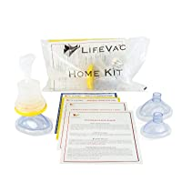 LifeVac - Choking Rescue Device Home Kit for Adult and Children First Aid Kit, Portable Choking Rescue Device, First Aid Choking Device