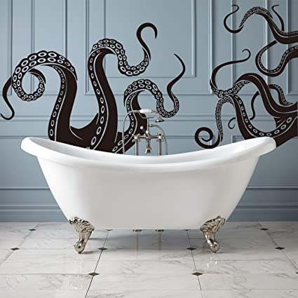 Amazon Octopus Tentacles Vinyl Wall Decal Sea Monster Sticker