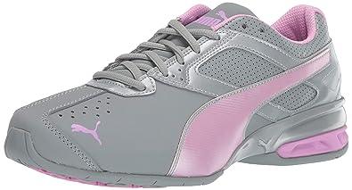 reputable site a9355 3dbf9 PUMA Women s Tazon 6 FM Sneaker, Quarry-Orchid Silver, ...