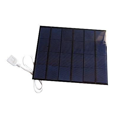 Sunnytech 3.5w 6v USB Mini Solar Panel Module DIY Polysilicon Solar Epoxy Cell Charger B034: Toys & Games