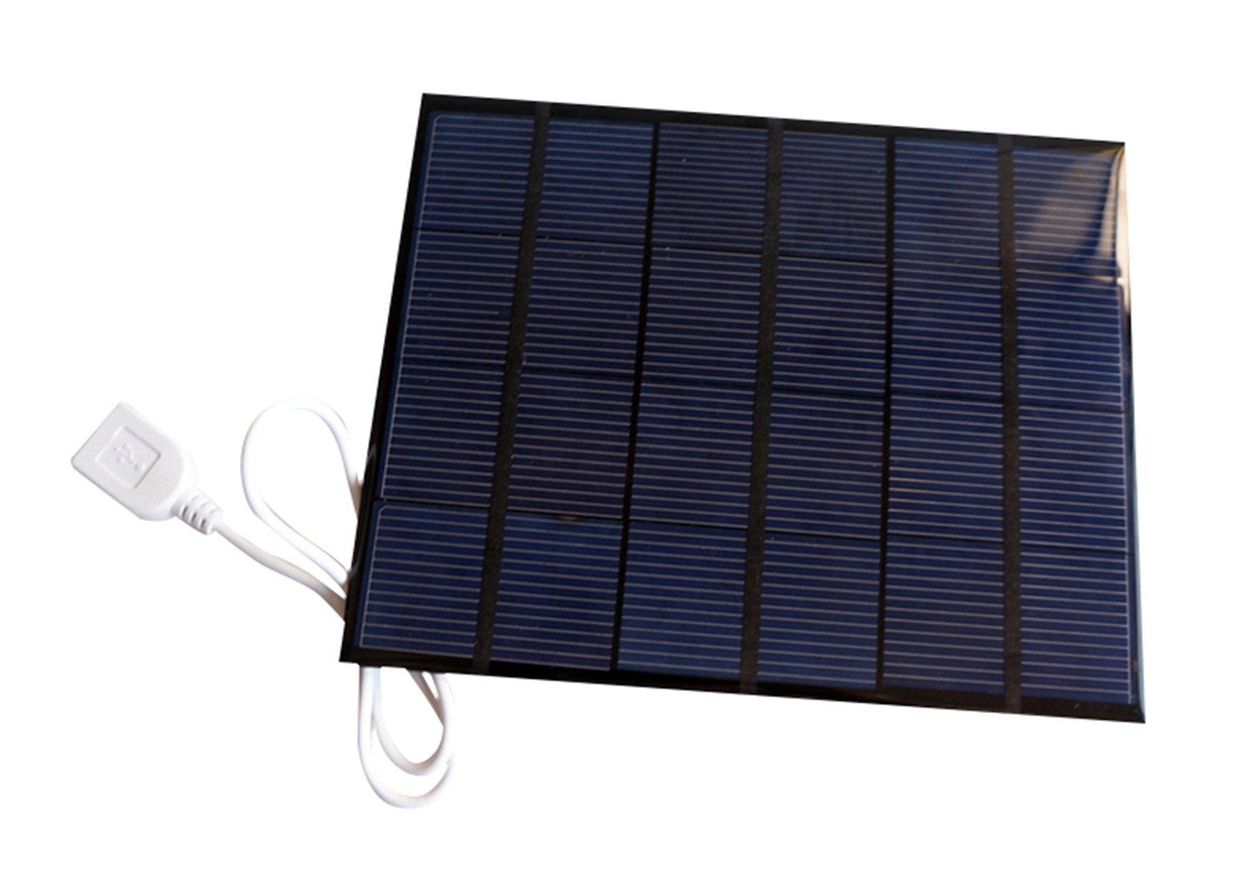 Sunnytech 3.5w 6v USB Mini Solar Panel Module DIY Polysilicon Solar Epoxy Cell Charger B034
