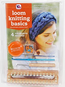 ac6c78a6ba3 Loom Knitting Basics  Knitting board and more!  Amazon.ca  Home ...