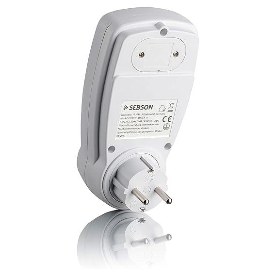 Medidor de energía Sebson, medidor de gastos de energía y medidor ...
