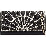 df907c8d09b LeahWard Ladies Diamante Flap Clutch Bags Women s Wedding Purse Cross Body  Handbags 2207