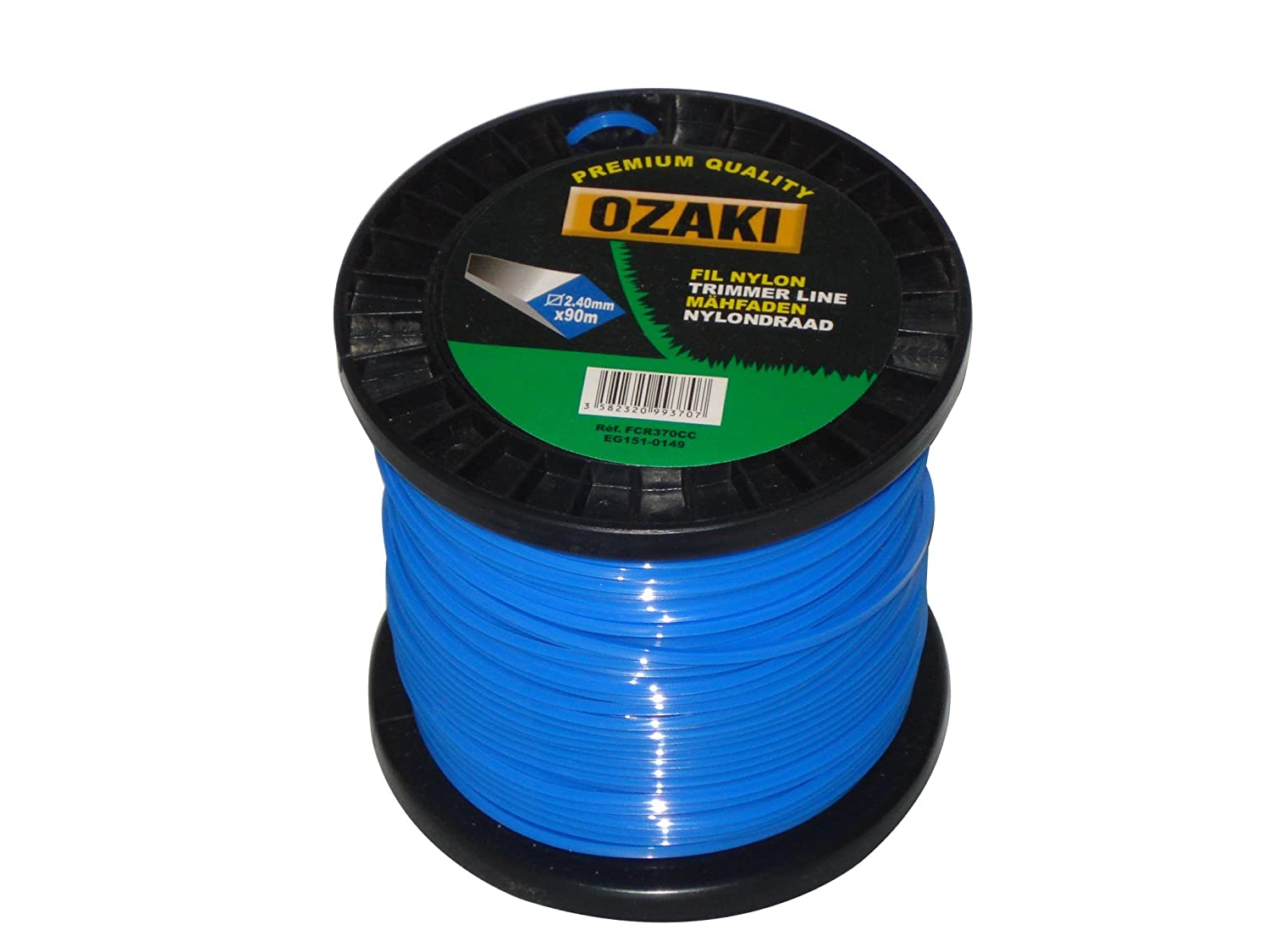 GreenStar 3799 Square 2.4 mm nylon wire reel 90 m 15480