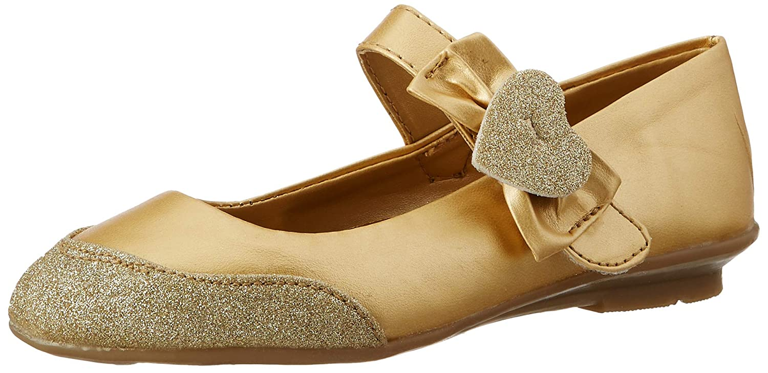 Bubblegummers Jolly Gold Indian Shoes-1
