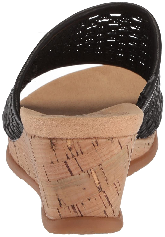 BareTraps Women's 8.5 Flossey Slide Sandal B075XWMBVC 8.5 Women's B(M) US Black 84a3af