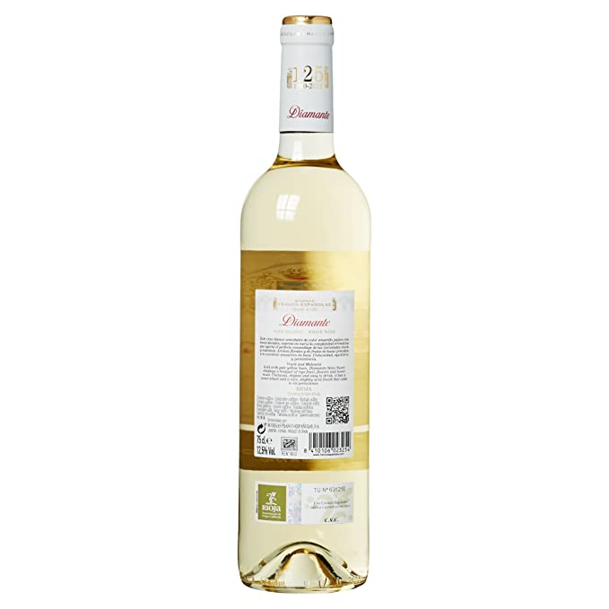 Diamante Vino Blanco Rioja Semi Dulce - 1 Botella: Amazon.es: Amazon Pantry