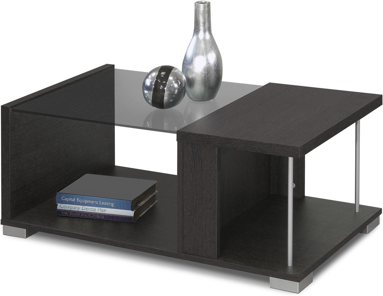 INTRADISA 2036 - Mesa de Centro de diseño con Varillas y Cristal ...
