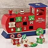 カルディオリジナル クリスマスウッドボックスカレンダー 機関車