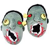 Slipper, WOLFBUSH Unisex Halloween Wacky Soft Baggy Zombie Head Warm Couple Plush Cotton House Slippers