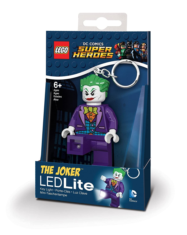 LEGO Llavero LED Joker - DC Comics Super Heroes: Amazon ...