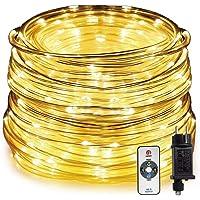 HAUSPROFI - Manguera de Luces Exterior 15m 200 LED, Cadena de luces Blanco cálido con…