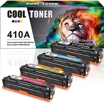 4 Pack Cool Toner Compatible 410X 410A CF410A CF410X para HP ...