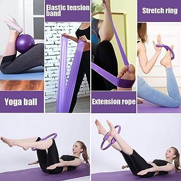 Mga resulta ng larawan para sa 5PCS Yoga Ball Magic Ring Pilates Circle
