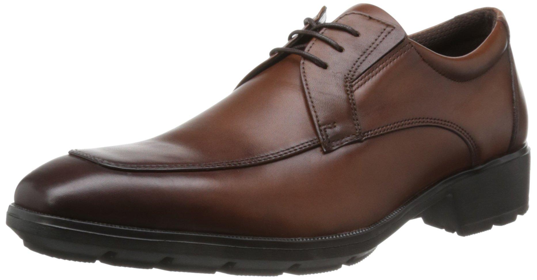 Texcy Luxe Cowhide Sneakers Business (US6.5 JP24.5cm, BROWN)